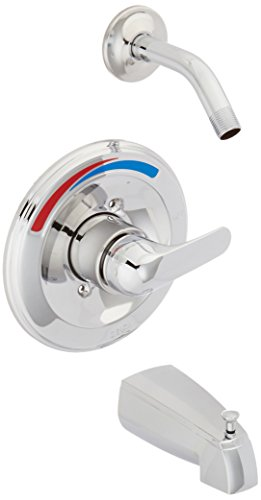 13 Series Chrome Trim Shower - Delta T13491-SLHD Monitor 13 Series Tub and Shower Trim, Less Showerhead, Chrome