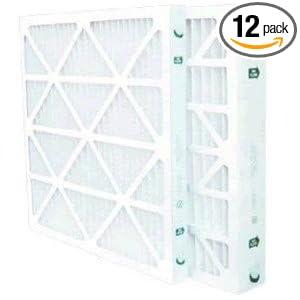 25x25x1 Merv 8 Furnace Filter 12 Pack