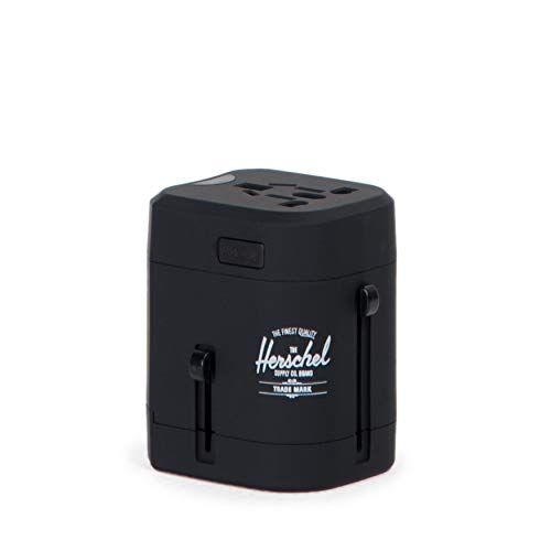 Price comparison product image Herschel Supply Co. Travel Adapter,  Black