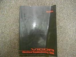 1994 acura vigor electrical troubleshooting wiring diagram manual