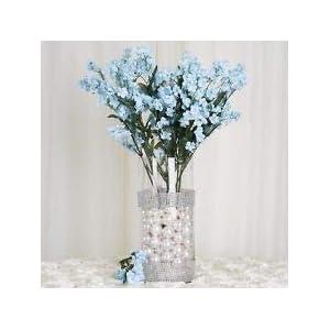384 Light Blue Silk Baby Breath Filler Flowers Wedding Centerpieces Bouquets 59