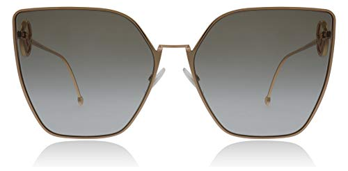 Fendi FF0323/S DDB Gold/Copper FF0323/S Cats Eyes Sunglasses Lens Category ()