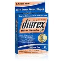 Diurex Diurex Water Capsules Extended Relief, 21 each (Pack of 2)