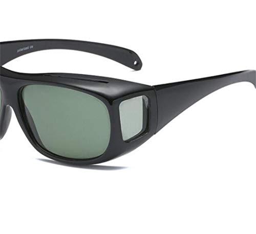 hombres sol viajar aire gafas Guay polarizadas al libre sol Huyizhi para de UV400 para Gafas de Gafas para Black ciclismo Protección aYqBwxz