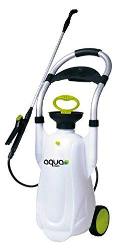 Pulverizador fumigador manual con ruedas de 12 Lt. Máquina para fumigar con lanza pulverizador.: Amazon.es: Jardín