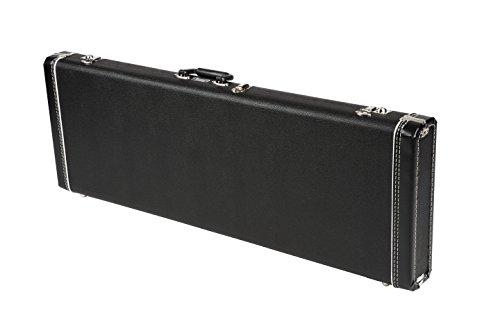 Fender Standard Black Case for Strat/Tele Right and Left Hand Guitars (Squier Standard Tele)