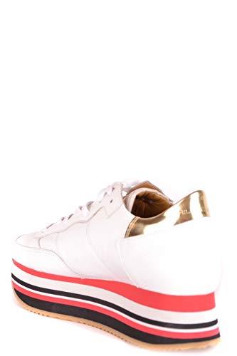 Philippe Model Mcbi238086o Blanco Mujer Zapatillas Cuero pprBaqxw