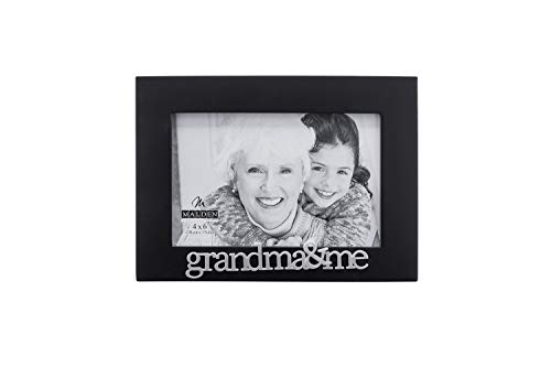 Malden International Designs Grandma and Me Expressions Picture Frame, 4x6, Black