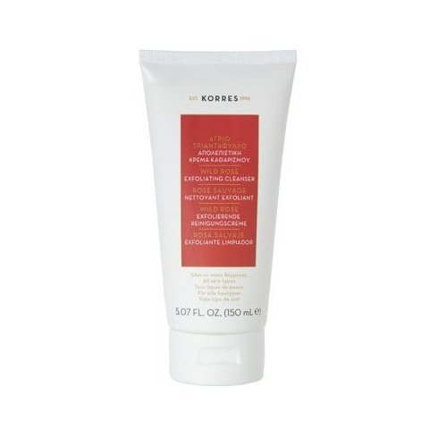 2 X Korres Wild Rose Brightnening Buff Cleanser for all skin types - 2 Tubes X 150ml/5.1oz each one