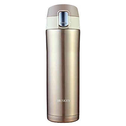 Amazon com: Huskey Stainless Steel Travel Mug - 17 Oz Vacuum