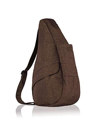 (AmeriBag Classic Healthy Back Bag tote Distressed Nylon Medium (Brown))