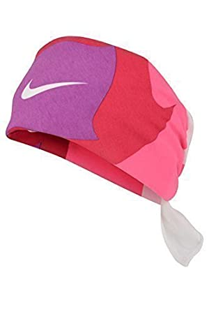 1 x Nike Swoosh Top End Unisex Headband Bandana Hat (AC0339 102) (Pink 100dee596d9