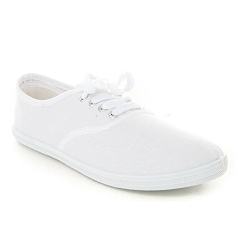Soho Shoes Women's Classic Canvas Sneaker Tennis Shoes