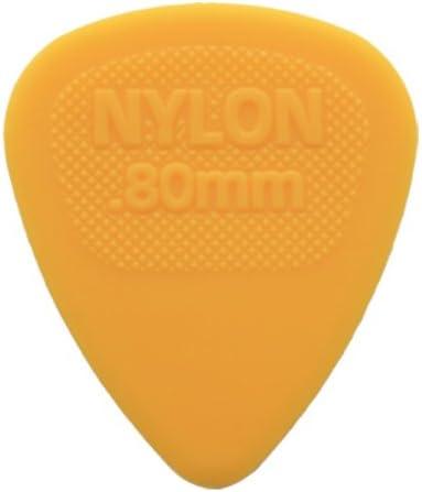 12 x Nylon De Dunlop Midi Selecciones De La Guitarra / Púas - 0.80 ...