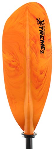 SeaSense X-TREME II Kayak Paddle, 84-Inch, Orange and Yellow