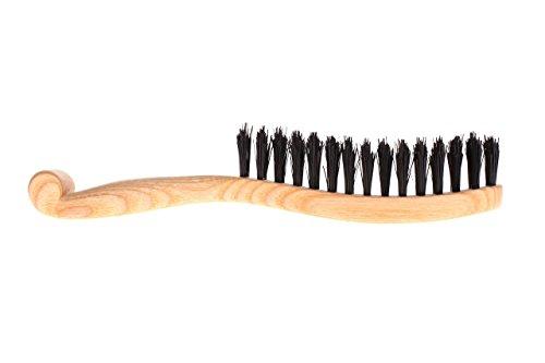 "All natural Eco Womens boar bristle paddle hair brush ""Chic Strand"" Organic ladies hairbrush handmade by WildGood bridal shower gift idea"