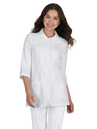 - KOI 446 Women's Amber Lab Coat White 2XL