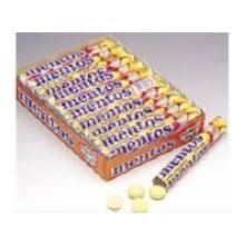 Mento Chewy Mints Fruit - box of 15 rolls, 24 boxes per case by Perfetti Van Melle