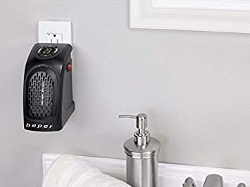 lgvshopping Mini Calefactor 350 W Pocket Heater Estufa Cálido baño caldobagno Salvaspazio: Amazon.es: Hogar