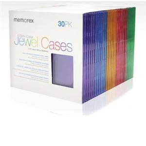 30pk Color Sleeves (01930) - by Memorex