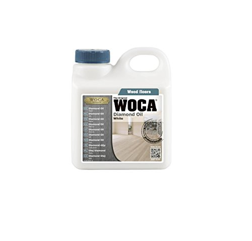 WOCA Diamond Oil 1 Liter/33.814 fl.oz (White)