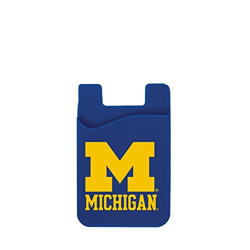 Michigan Wolverines Cell Phone Card Holder (Card Business Holder Michigan)