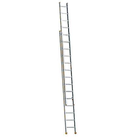 Layher Treppenstehleiter 5 Sprossen 155 cm L/änge