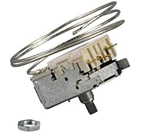 Termostato para Ranco K59-H1346 K59H1346 Bosch Siemens 00167222 00167223 para refrigerador: Amazon.es: Grandes electrodomésticos