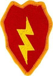 - U.S. Army 25th Infantry Division Patch