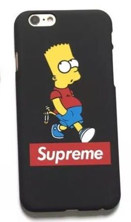 coque iphone 6 supreme simpson