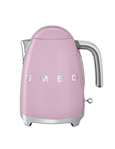 Vintage 1950 Style Electric Kettle in Pink