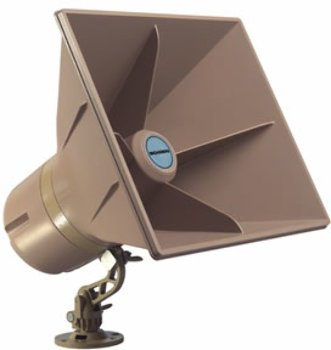 (5W Self Amplified 24 Volt Horn , - Bogen 5 Watt Self Amplified 24 Volt Horn- Digital Switching Amplifier Technology Greatly Reduces Current Consumption When Compared To Conventional Ananlog Self Ampl)