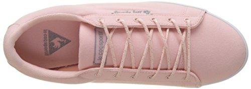 Le Coq Sportif Damen Agate Lo Cvs / Metallic Sneaker Mehrfarbig (rose Inglese / Argento Antico 1)