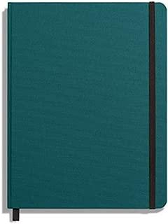product image for Shinola Journal, HardLinen, Plain, Dark Teal (7x9)