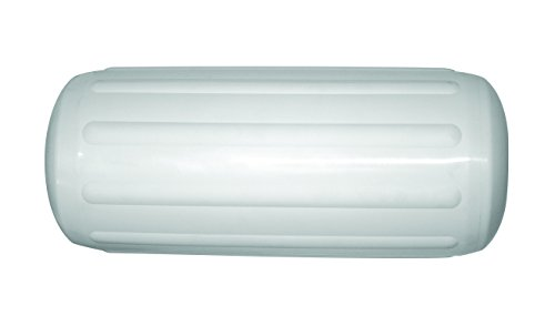 Ocean Fenders RT2 Series Ribbed Inflatable Boat Fender, Horizontal & Vertical Use, 8.5