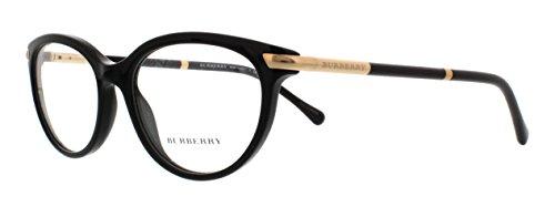 Burberry BE2177 - 3001 Eyeglasses Black - Womens Frames Burberry