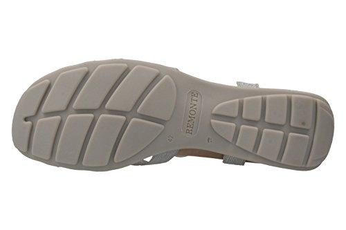 Remonte Damen Sandalen - Silber Schuhe in Übergrößen Silber