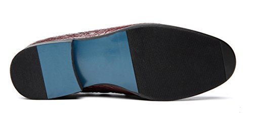 Regalo Boutique De De Cuero Red Zapatos Zapatos De Zapatos Hombre Casuales LINYI Zapatos qgFwSPxn