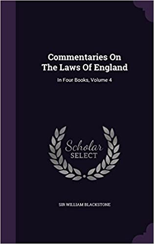 Google audio books download Commentaries On The Laws Of England: In Four Books, Volume 4 PDF CHM