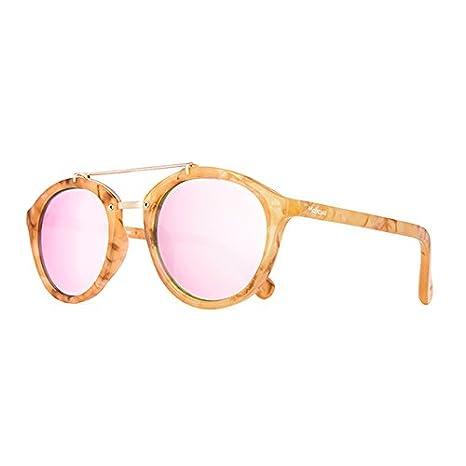 Maltessa Volutto Gafas de Sol, Carey/Rosa, 52 Unisex: Amazon ...