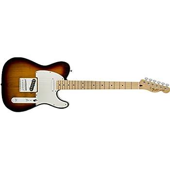 Fender Standard Telecaster Electric Guitar - Maple Fingerboard, Brown Sunburst
