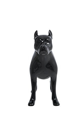 Newtech Display MA-DOG-PIT/SJBK Pit Bull Dog Mannequin, Shiny Black by Newtech Display