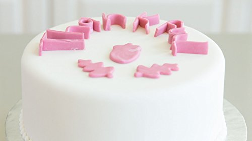 The Wilton Method: How to Make Fondant Letters -