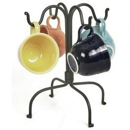 Colonial Tin Works Four Hook Mug Rack (Tree Cup)