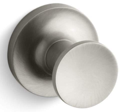 Purist Nickel Towel (Kohler K-14443 Purist Robe Hook, Brushed Nickel)