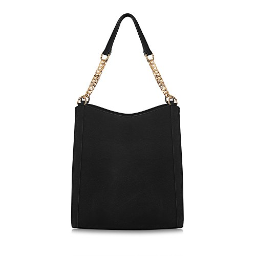 'Sylvaine' Handbag Women Black Vegan for Leather London LaBante Hobo RFBqAA