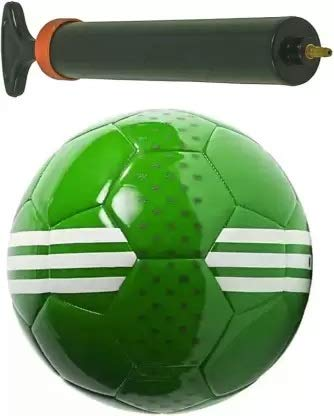 MRS Football Size 5 with Air Pump Football Kit .