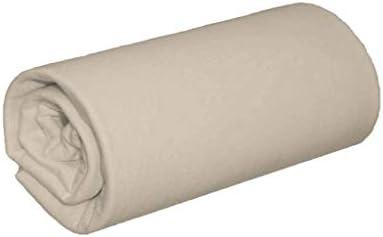 Lot de 2 draps Housses Jersey Beige Bonnet 30 cm 70x200