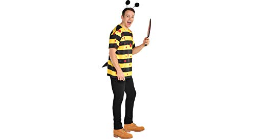 Amscan Killer Bee Halloween Costume Accessory Kit for Adults, One Size, 4 Pieces ()