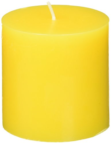 Zest Candle Pillar 3 Inch Yellow product image